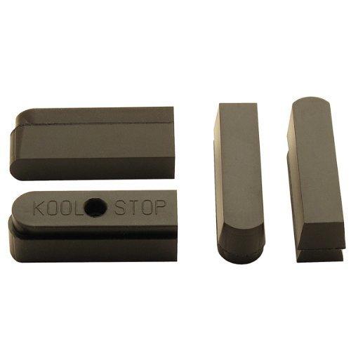 Kool Stop Modolo Inserts Brake Pad Pack of 4 Black