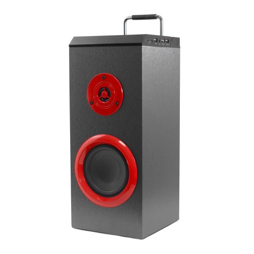 PSYC Torre WX Wi-Fi & Bluetooth Tower Speaker Bass Subwoofer Boom Box