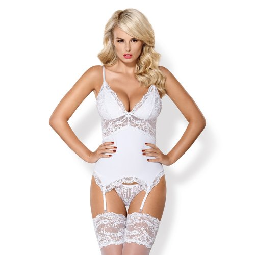 Obsessive 810 Corset and Matching Thong Set