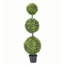 Triple Ball Boxwood Topiary Tree