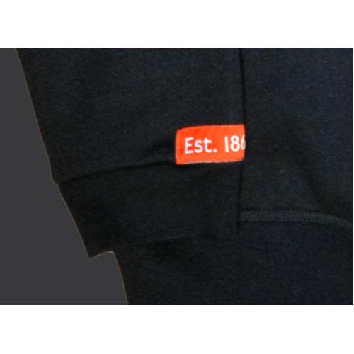 TFL201 Licensed Unisex London Applique Underground Sweatshirt Sports Grey