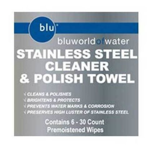 Bluworld DYM-91901 Stainless Steel Cleaner Towel Wipes