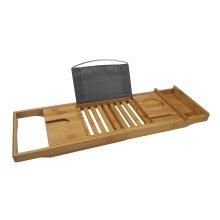 Bamboo Multi-Function Bath Tray | Wooden Bath Caddy