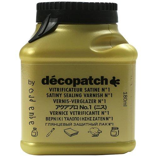 décopatch Sealing Varnish, Satin No1, 180 ml
