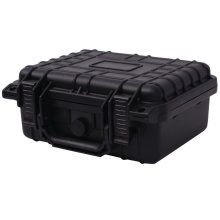 vidaXL Protective Equipment Case 27x24.6x12.4 cm Black