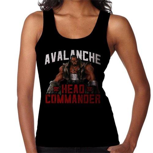 Avalanche Head Commander Barret Final Fantasy VII Women's Vest