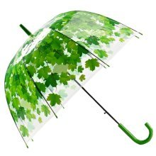 Small Fresh Cherry Leaves Long Umbrella Thickening Creative Umbrella Personality