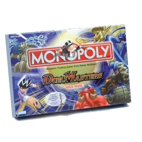 Duel Masters Monopoly - Special Edition Board Game