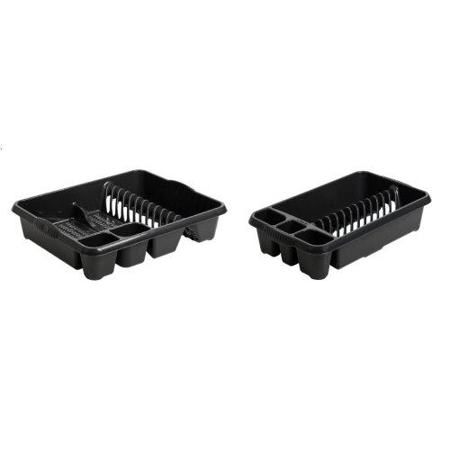 Plastic Large/Medium Dish Drainers Utensils Holder Draining Boards