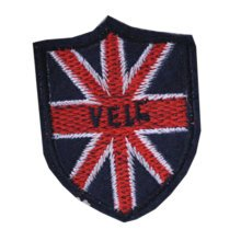 """Set of 2 Creative UK Flag Patches Embroidery Armband Badge Applique 1.9*2.4"""""""