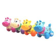 Cattle Animals Baby/Kids Wind-Up Toy(Color Random) Set Of 2