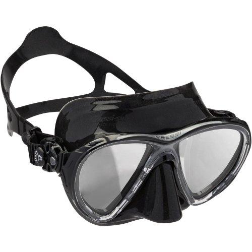 Cressi Big Eyes Evolution Mirrored Lenses Diving Mask - Black