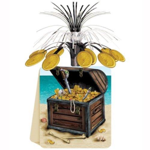 Beistle 50048 Pirate Treasure Centerpiece, 13-Inch
