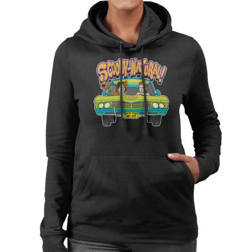 Supernatural Scooby Doo Mix Women's Hooded Sweatshirt