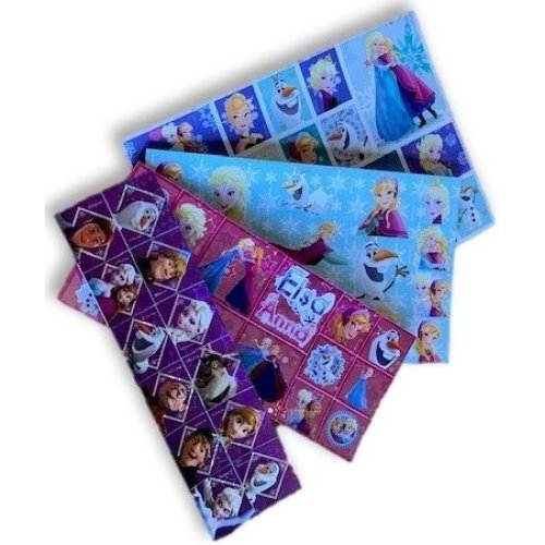 4 x DISNEY FROZEN Sticker Sheets
