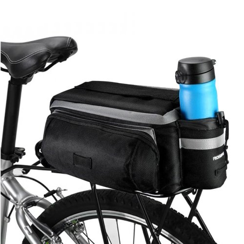 Betuy Waterproof Rear Seat Bag, 7L Bike Saddle Bag with Reflective Tape, Mountain Road MTB Bicycle Outdoor Sport Pannier Trunk Bag Bicycle...