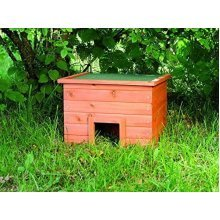 Trixie Natura Hedgehog Hotel, 37 x 26 x 35cm - Housecm 37x26x35 59601 Small -  hedgehog house natura cm 37x26x35 59601 trixie small animal shelter