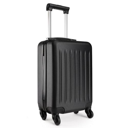KONO Ryanair Easyjet Cabin Approved Luggage Suitcase Black