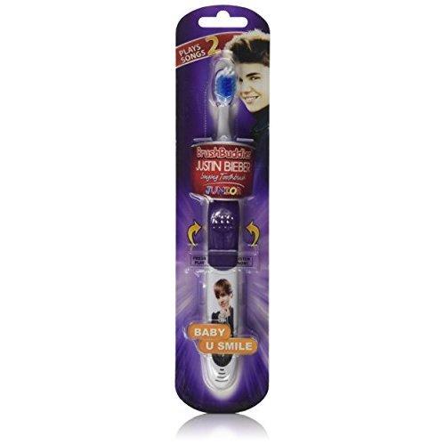 Brush Buddies Justin Bieber Junior Baby and U Smile Singing Toothbrush