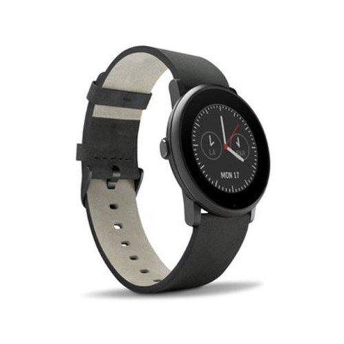 DecalGirl PTRN-SS-BLK Pebble Time Round Skin - Solid State Black