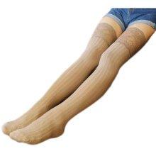 1 Pair Knee-high Stockings Warm Lace Thigh Stockings Leg Warmers Socks-A04