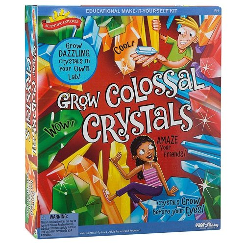 Scientific Explorer Grow Colossal Crystals
