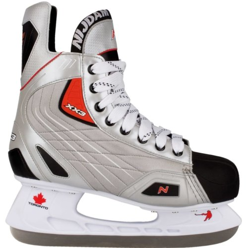 Nijdam Ice Hockey Skates Size 41 Polyester 3385-ZZR-41