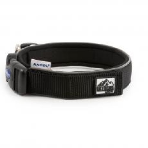 Extreme Nylon Padded Collar Black Size 5 40-46cm