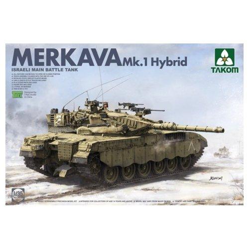 Takom Tak–2079Israeli Main Battle Tank Model Kit Mekava 1Hybrid