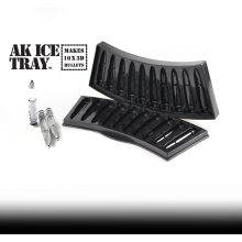 Novelty Ak Ice Tray - Cube Bullet Frozen Bullets Killer Drink Mustard Mould -  ice tray cube bullet ak frozen bullets killer drink mustard mould