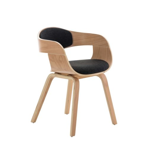 Visitor chair Kingston fabric natura