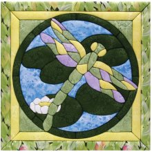 Dragonfly Quilt Magic Kit-Dragonfly