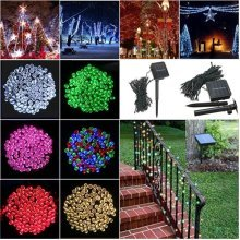 100 LED Solar Powered Fairy String Light