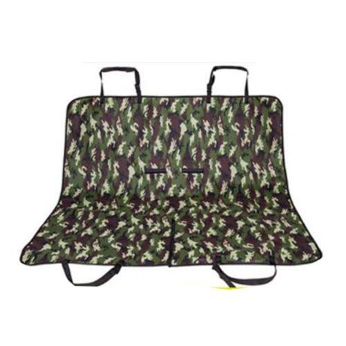 Waterproof Pet Car Seat Cover Pet Mat Double Rear Seat Mat- 02
