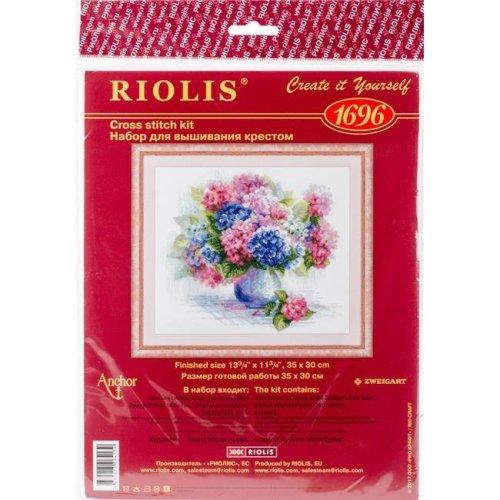 Riolis R1696 Hydrangea Counted Cross Stitch