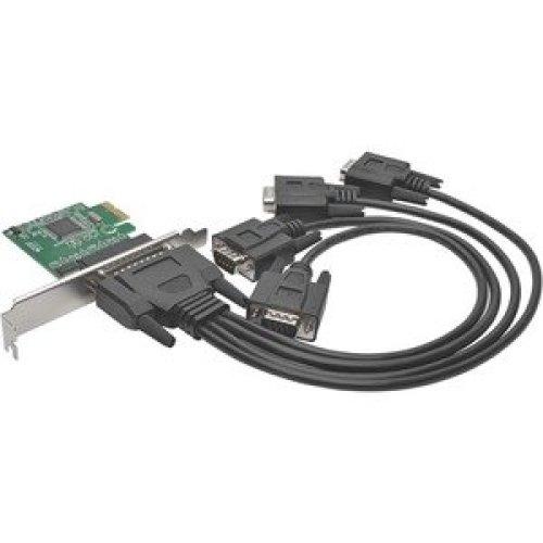 Tripp Lite PCE-D9-04-CBL Multiport Serial Adapter Pci Express X1 4 X Db-9 R PCE-D9-04-CBL