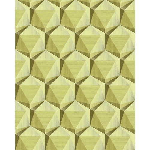 EDEM 1050-15 Retro wallpaper subtly glittering beige green beige 5.33 sqm