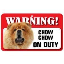 Chow Chow Pet Sign