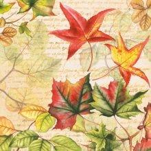 4 x Paper Napkins - Autumn Time  - Ideal for Decoupage / Napkin Art
