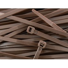 Nylon Cable Ties Cable Wrap Zip Ties Brown 200 x 4.8 Choose Quantity