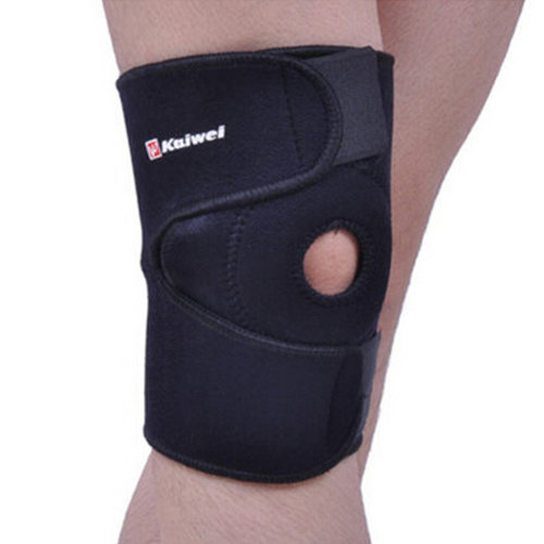 Set of 2 Sports Outdoors Adjustable Silicon Knee Pads Knee Support/Protector