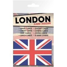 London Union Flag Travel Pass Card Holder