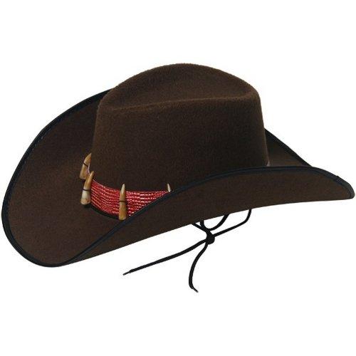 Henbrandt Unisex Cowboy Hat With Teeth