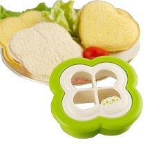 Four-leaf Clover Shaped DIY Pocket Sandwich Maker  Bread/Toast Mould Cutter