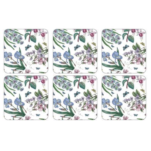 Pimpernel Botanic Garden Chintz Coasters, Set of 6