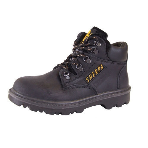 c1757674c09 Click SCBBL06.5 Sherpa Safety Chukka Boots With Steel Toecap and Midsole  Black Size 6.5