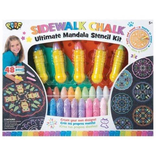 Alex Brands 0C8982TL Poof Ultimate Chalk Mandala Set