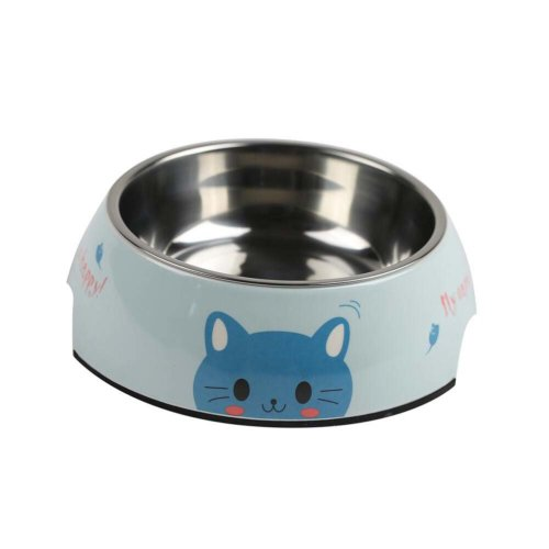 Cute Dog Bowls Dog Dishes Pet Bowl for Dogs Cats Stainless Steel Dog Bowls