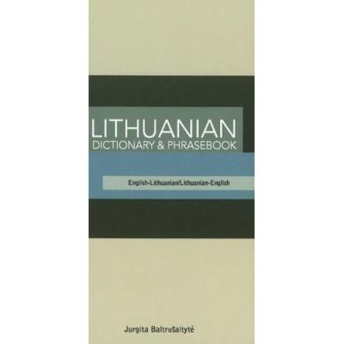 Lithuanian Dictionary and Phrasebook