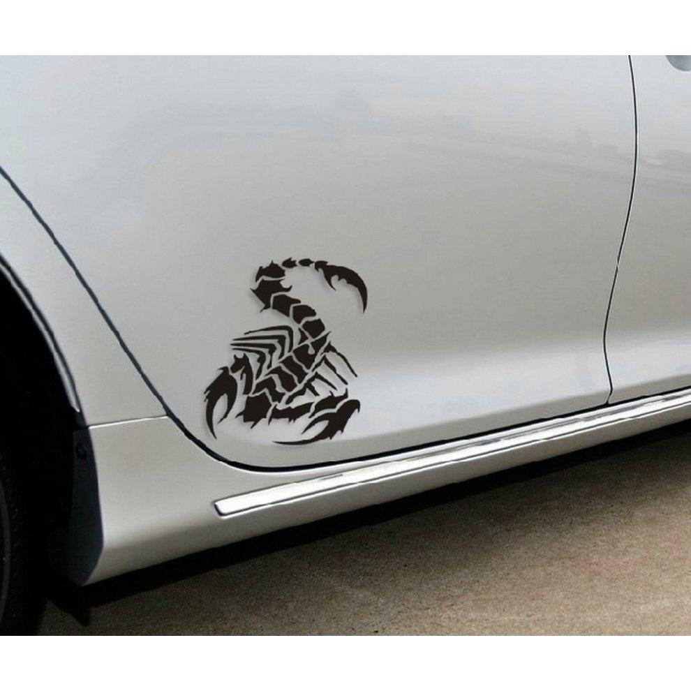Scorpion car decals car sticker cool stickers car window sticker blue 5 9